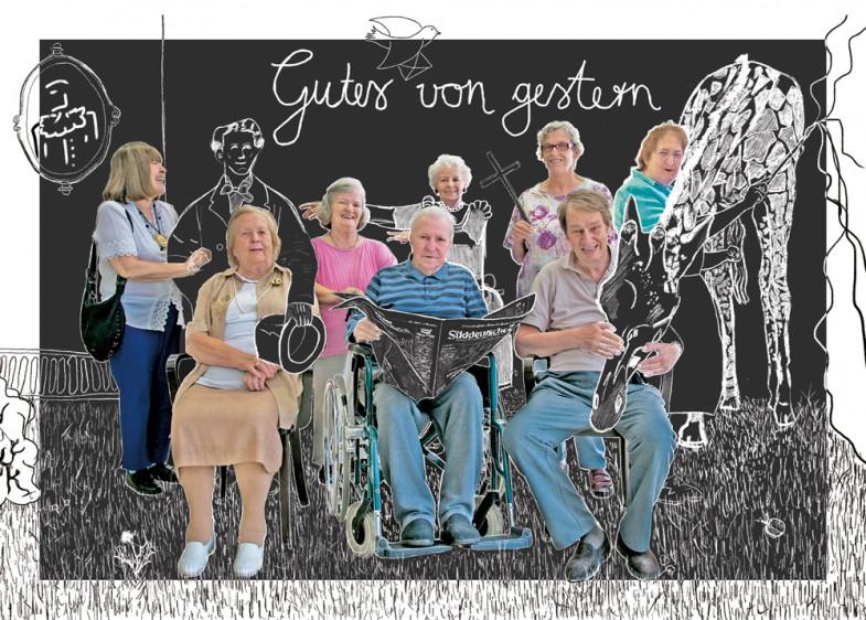 von links: Frau Häussler, Frau Pogadl, Frau Aschenbrenner, Herr Matschke, Frau Daut, Frau Braun, Herr Gössl und Frau Schöttler  © Felix Kruis